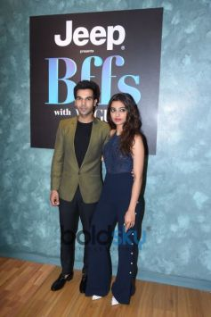 Vogue Bffs Shoot With Neha Dhupia,Rajkummar Rao And Radhika Apte