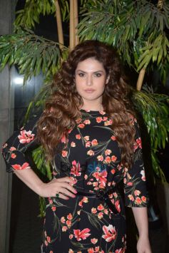 Zareen Khan At Andheri For Screening '1921'