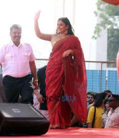 Actress Vidya Balan Visit Gujarat Literature Festival In Vadodara