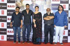 Ajay Devgn And Ileana D'Cruz At 'Raid' Trailer Launch