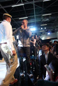 Akshay Kumar At Honda Event At Auto Expo In Noida