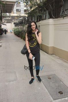 Ananya Pandey Spotted At Bandra