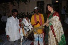 Celebs Celebrating Mahashivratri At Band Stand Bandra