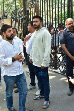 Celebs Spotted At Sridevi's House
