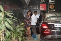 Disha Patani Spotted At Body Sculpture Bandra