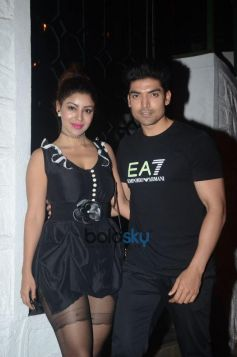 Gurmeet Choudhary And Debina Choudhary Celebrate Wedding Anniversary At Korner House In Bandra