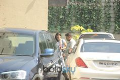 Jacqueline Fernandez Spotted At GYM In Bandra