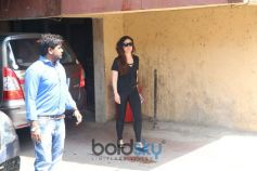 Kareena Kapoor Spotted At Gym Bandra