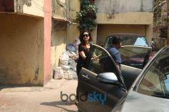 Kareena Kapoor Spotted At Gym Bandra