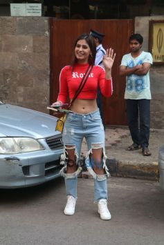 Karishma Sharma Spotted At Indigo Bandra
