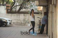 Katrina Kaif Spotted At Gym Bandra
