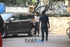 Katrina Kaif Spotted At Gym Bandra