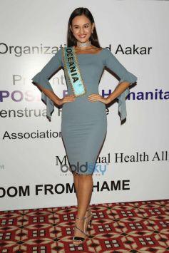 Miss World 2017 Manushi Chhillar At Miss World Organisation Event