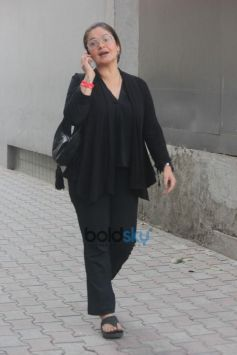 Pooja Bhatt Spotted At Office