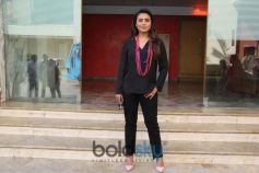 Rani Mukerji Promotion For Upcoming Movie Hichki