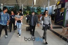 Shahid Kapoor And Mira Rajput Kapoor Spotted Airport