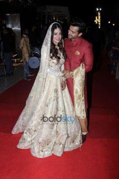 Shoaib Ibrahim And Dipika Kakar Wedding Reception