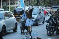 Soundarya Sharma Spotted At Sequel Bandra