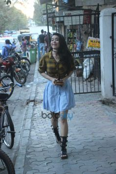 Soundarya Sharma Spotted At Sequel Bandra