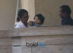 Taimur Ali Khan Spotted At Bandra