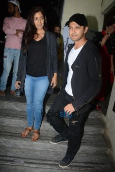 Vatsal Sheth With Wife Spotted At Juhu PVR