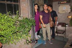 Vidya Balan Spotted At Pali Village Cafe Bandra
