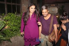 Vidya Balan Spotted At Pali Village Cafe Bandra