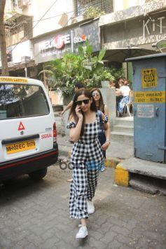 Yami Gautam Spotted At Kitchen Garden Bandra
