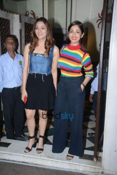 Yami Gautam With Sister Surilie Spotted At Bastian Bandra