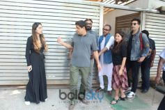 Zoya Akhtar's Home For Discuss Their Upcoming Movie