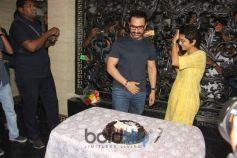 Aamir Khan Celebrates Birthday With Media