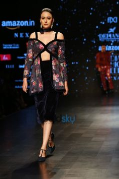 Designer Adarsh Gill At Amazon India Fashion Week In New Delhi
