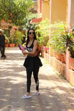 Malaika Arora Khan In Gym Outfit
