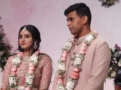 DK Shivakumar's Daughter And CCD Founder VG Siddhartha's Son Engagement