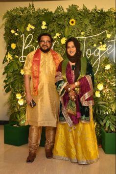 Gauhar khan And Zaid Darbar Mehandi Ceremony Photos