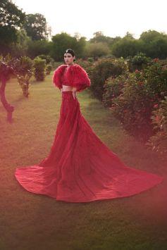 India Couture Week 2021 - Designer Falguni Shane Peacock