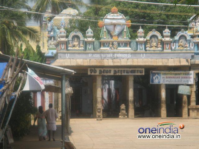 Sri Ramanujacharya\'s Shrine