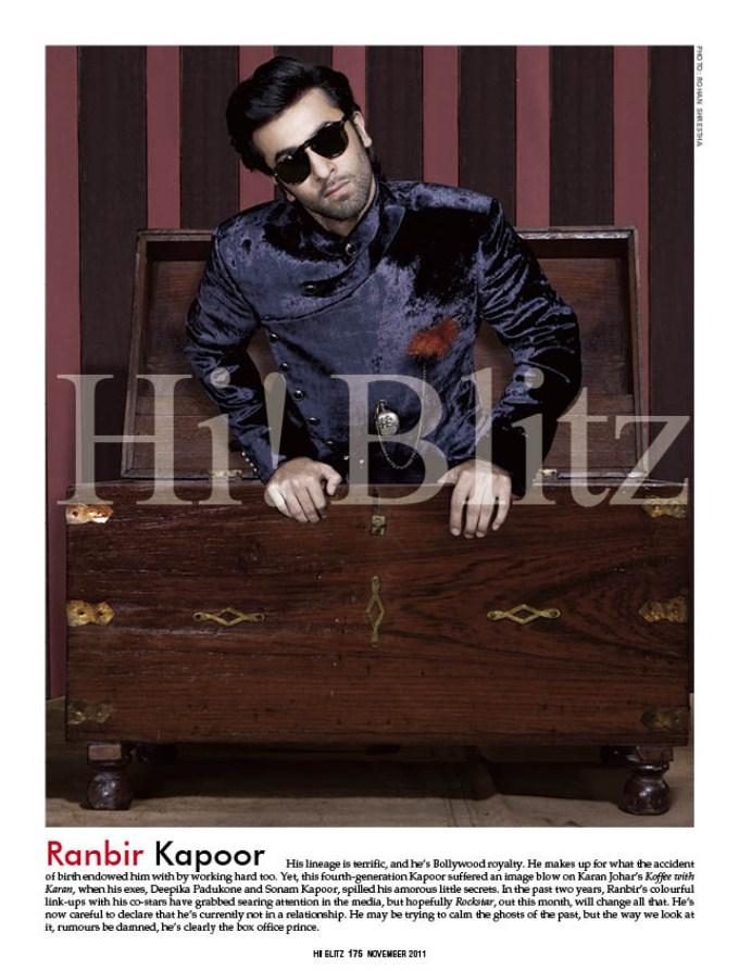 Hi Blitz Celebrity Magazine 2011
