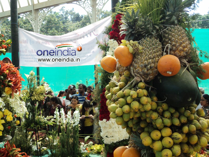 Lalbagh Flower Show for Republic day 2012