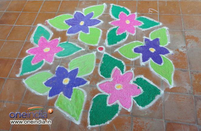 Rangoli Festival Photos - Pics 177386 - Boldsky Gallery