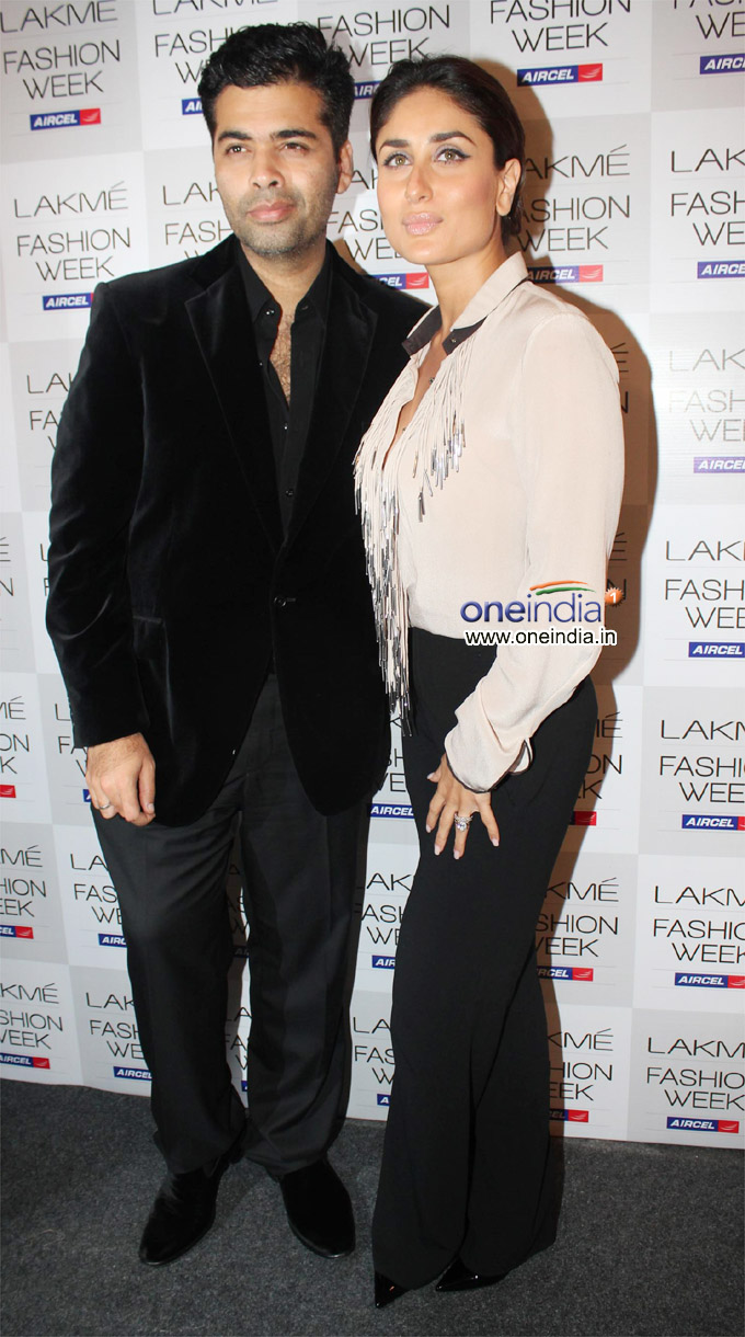 Celebrities at LFW Winter-Festive August 2012