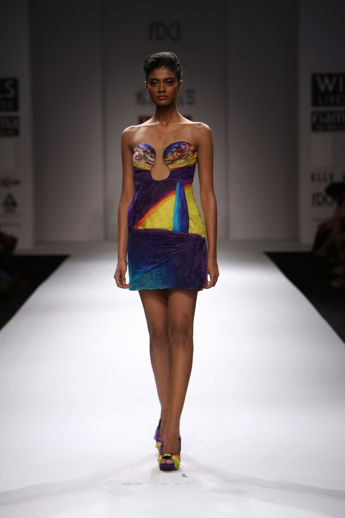 Khushi Z Under Water Life Collection Wills Lifestyle Fashion Week 2012 Photos Pics 228277