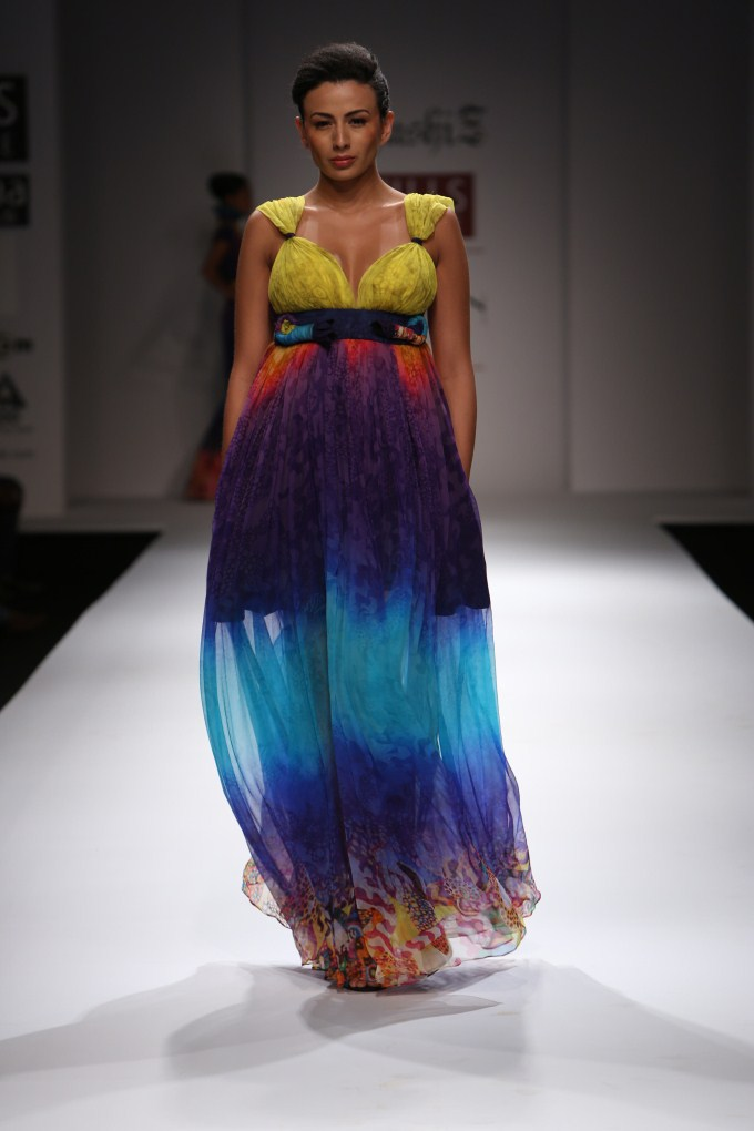 Khushi Z Under Water Life Collection Wills Lifestyle Fashion Week 2012 Photos Pics 228288