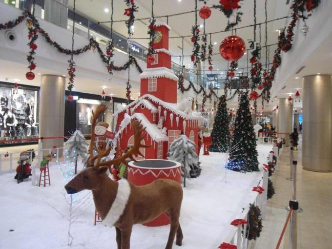 Christmas Decor At Phoenix Marketcity Bangalore Photos