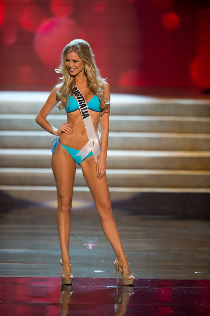 Renae Ayris at Miss Universe 2012 Contestants