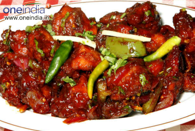 Hakka Chilli Chicken Chinese Recipe