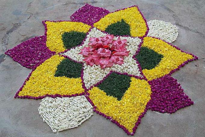 Rangoli Designs Pongal Decorations