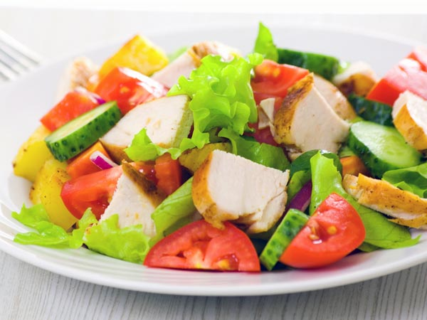 Download this Healthy Light Dinner... picture