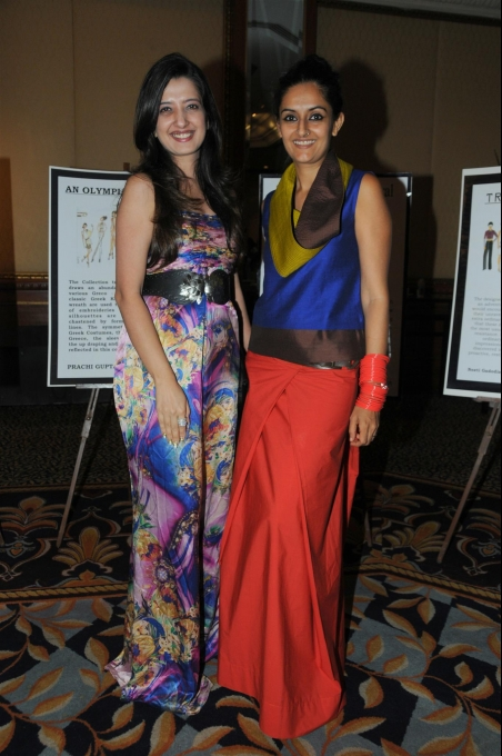 Chrysalis fashion show @ The Leela