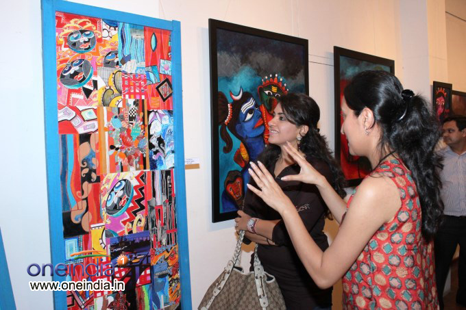 Inauguration of Deeksha Mishra's Art Exhibition